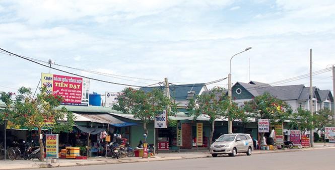 Khu Chợ Thương mại KCN VSIP II