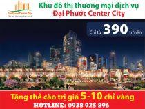 Đại Phước Center City – Góc nhìn quy hoạch Nhơn Trạch