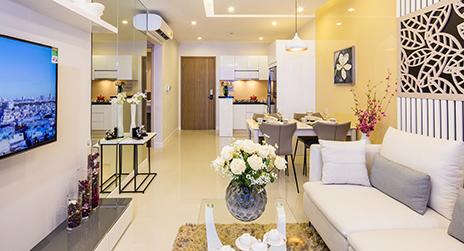 Thiết kế nội thất căn hộ Richstar sang trọng
