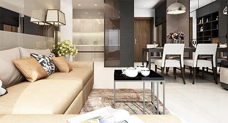Thiết kế nội thất căn hộ Sunrise Riverside