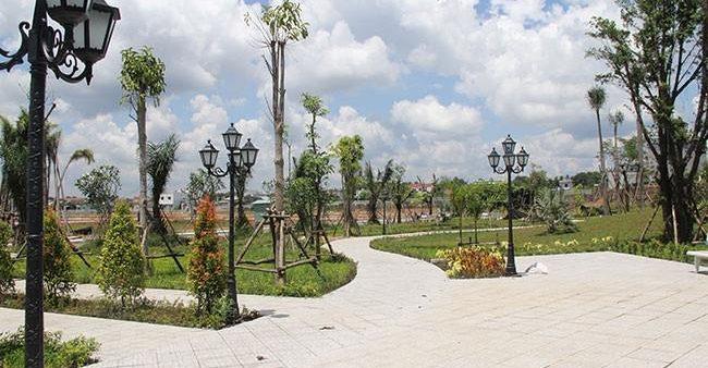 Ảnh thực tế Công viên tại dự án Golden Center City