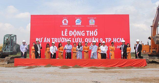 Lễ động thổ dự án KDC Trường Lưu Quận 9 của tập đoàn Kim Oanh