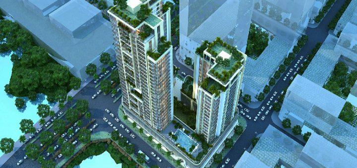 Phối cảnh dự án căn hộ River Front Residences