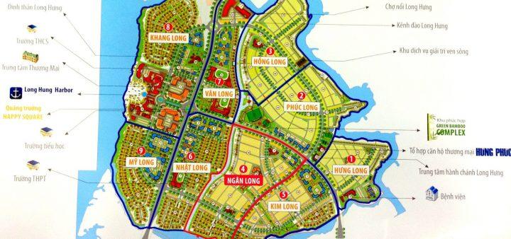 Hình ảnh phối cảnh mặt bằng khu đô thị Cường Hưng