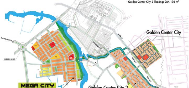 Tiện ích đẳng cấp tại siêu dự án Mega City Bến Cát, giá bán 400 Triệu/ nền 100m2
