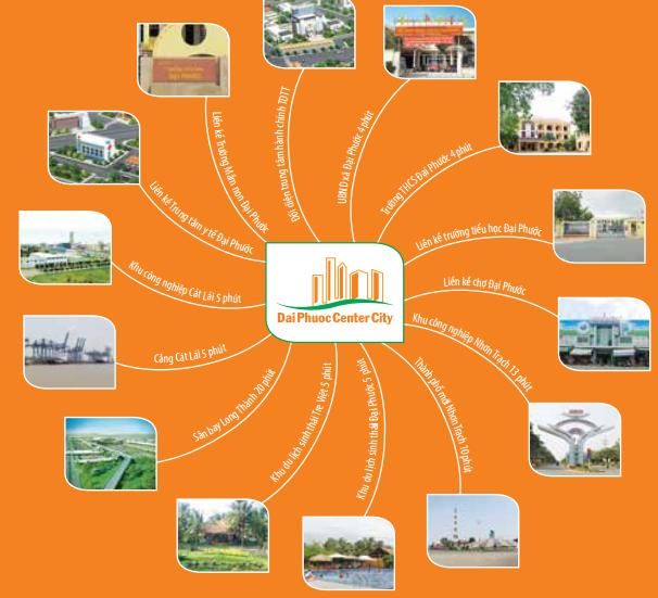 Tiện ích dự án Đại Phước Center City