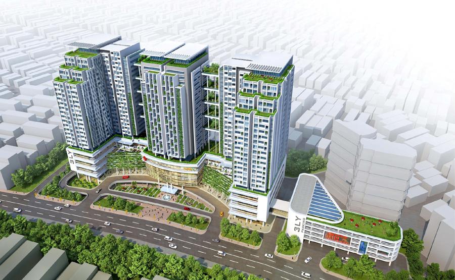 Phối cảnh dự án Sun Grand City Lương Yên