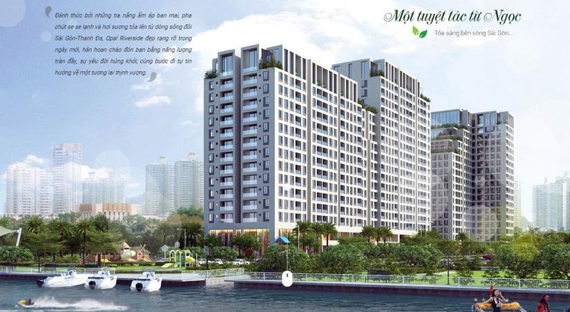 dự án căn hộ Opal Riverside