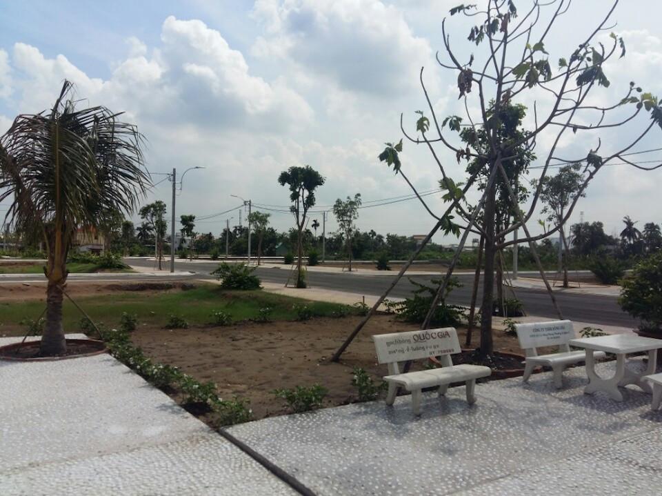 Một góc dự án An Phú Đông Riverside