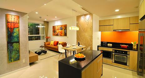 Nội thất sang trọng hiện đại của căn hộ Orchard Parkview