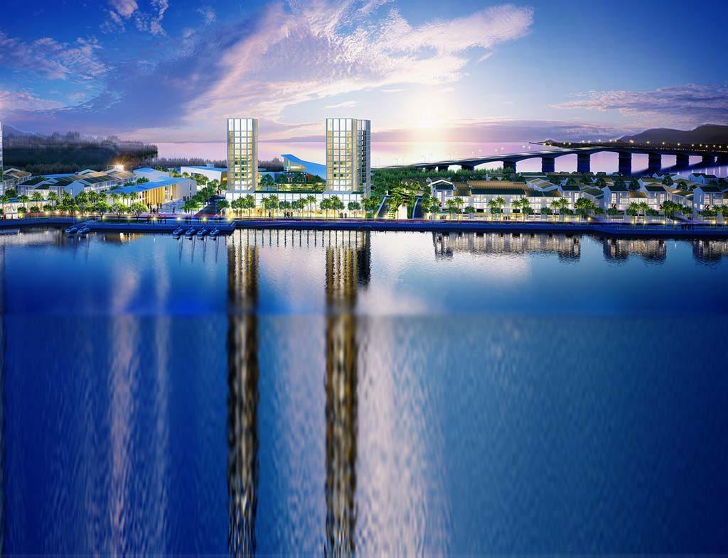 Phối cảnh dự án Marine City