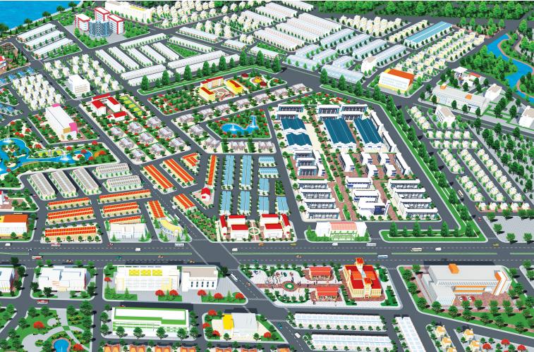 Phối cảnh dự án khu đô thị Bien Hoa New Town