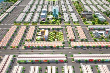 Phối cảnh tổng thể dự án College Town 3