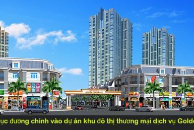 Phối cảnh cổng dự án Golden center City