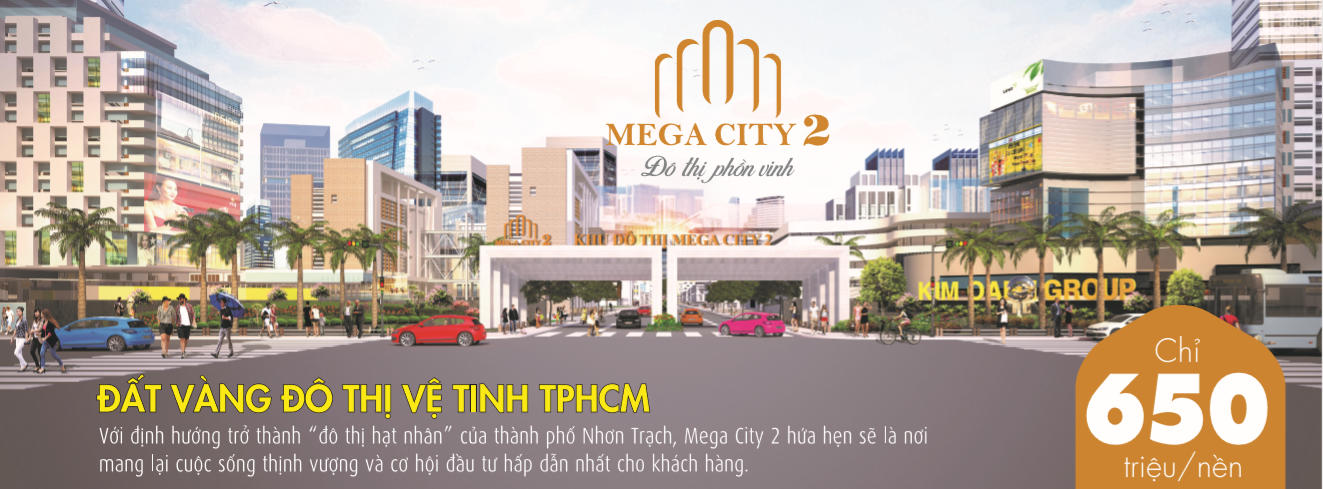 Giá bán Mega City 2