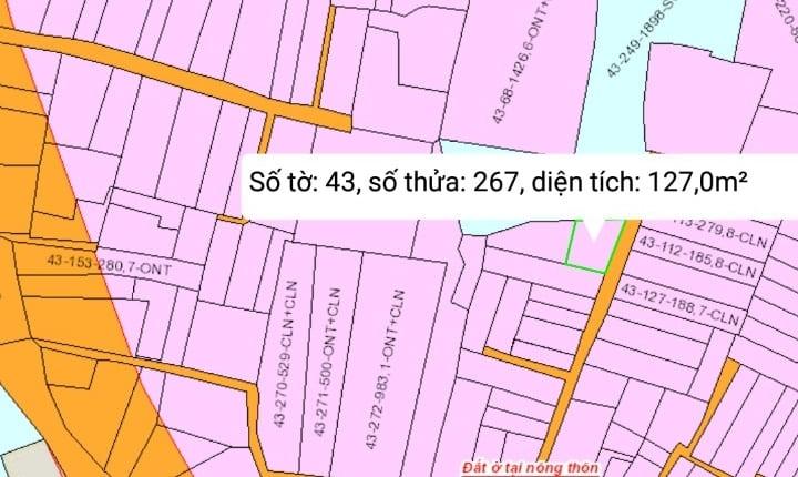 Gia Đình cần tiền bán gấp mấy lô đất Đại Phước Gía rẻ hơn thi trường  ,SHR, Gía 970tr