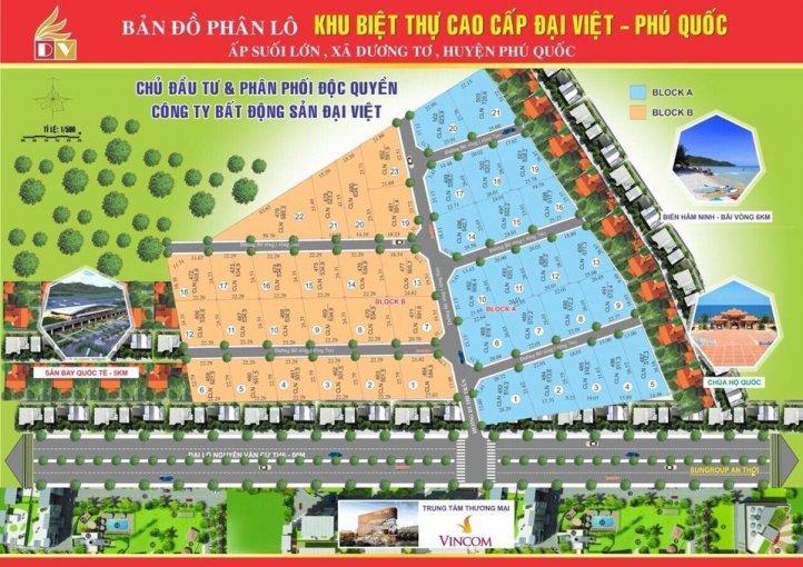 Phân lô dự án Đại Việt Phú quốc