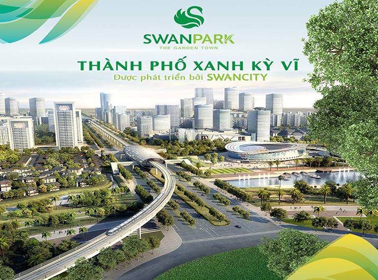 Khu đô thị Swan Park - Thành phố xanh kỳ vĩ