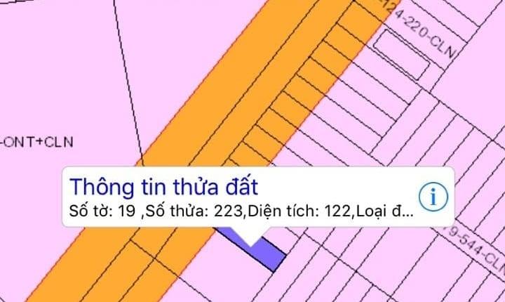 Đất đẹp mặt tiền Vàm Ô, Đại Phước giá tốt 122 m2 giá 2,250 tỷ nên đầu tư ngay