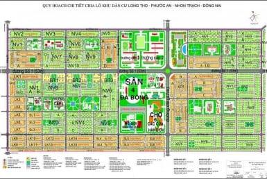 Phân lô dự án HUD Long Thọ Nhơn Trạch