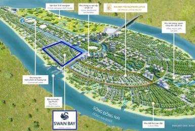 Phối cảnh toàn khu dự án Đảo Đại Phước