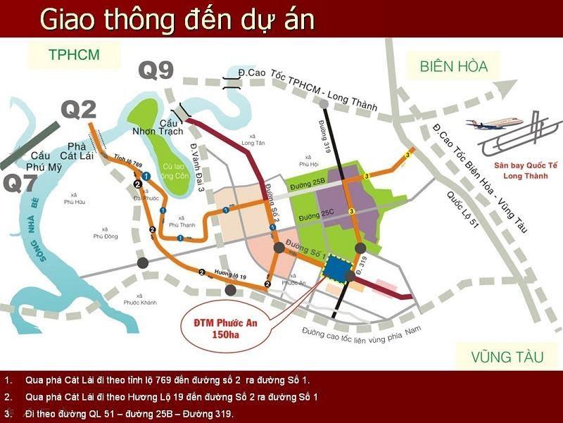 Vị trí đắc địa cách trung tâm Sài Gòn chỉ 20km của HUD