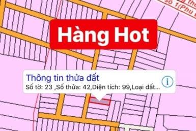 Bán đất full thổ cư xã Phú Đông