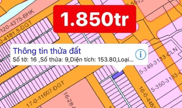 Bán nhanh 4 lô đất Phước Khánh Nhơn Trạch giá mềm hợp với đầu tư