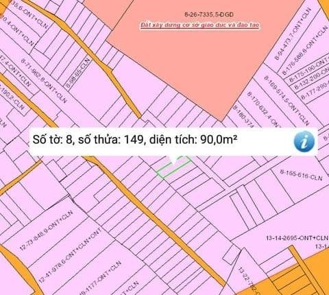 Đất nền xã Phú Thạnh gần trường chợ giá 850 triệu