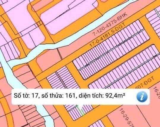 Bán 2 lô đất tái định cư Phước Khánh vừa vặn giá tiền