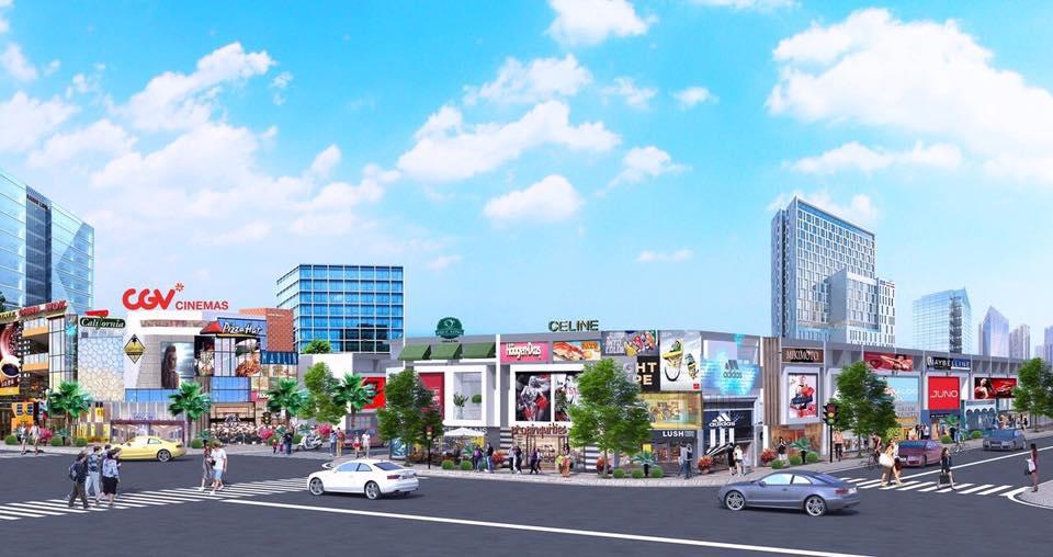 Phối cảnh một góc dự án Golden Future City Bàu Bàng