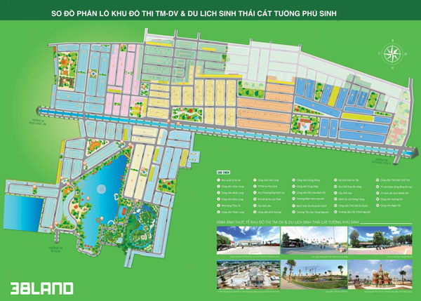 Phân lô dự án Cát Tường Phú Sinh