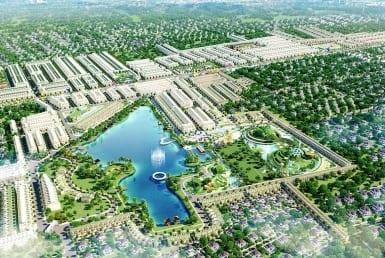 Phối cảnh tổng thể dự án Cát Tường Phú Sinh