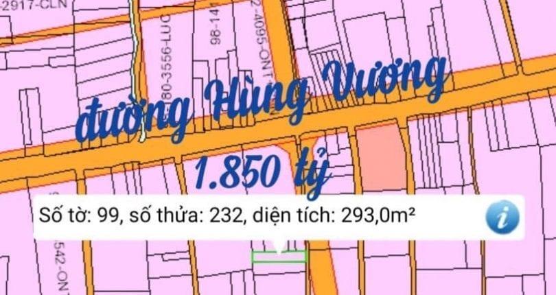 Bán đất Phước An số 99/232 gần đường giá 1 tỷ 850 triệu