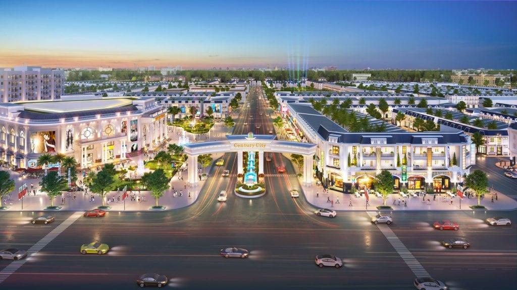 Phối cảnh dự án Century City