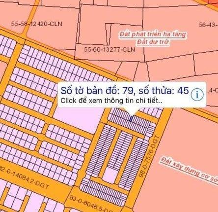 Bán đất HUD Long Thọ 79/45 giá 1 tỷ 170 triệu vị trí đẹp