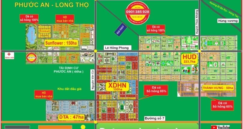 Thông tin dự án Xây Dựng Hà Nội – đất nền huyện Nhơn Trạch
